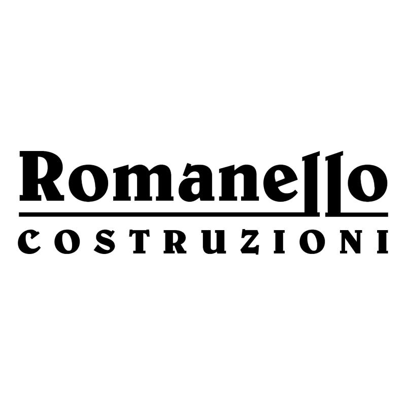 Romanello Costruzioni vector logo