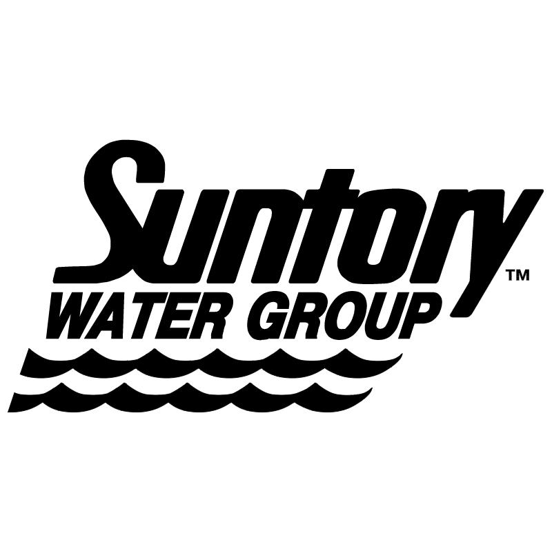 Santory Water Group vector logo