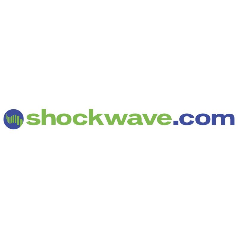 Shockwave com vector logo