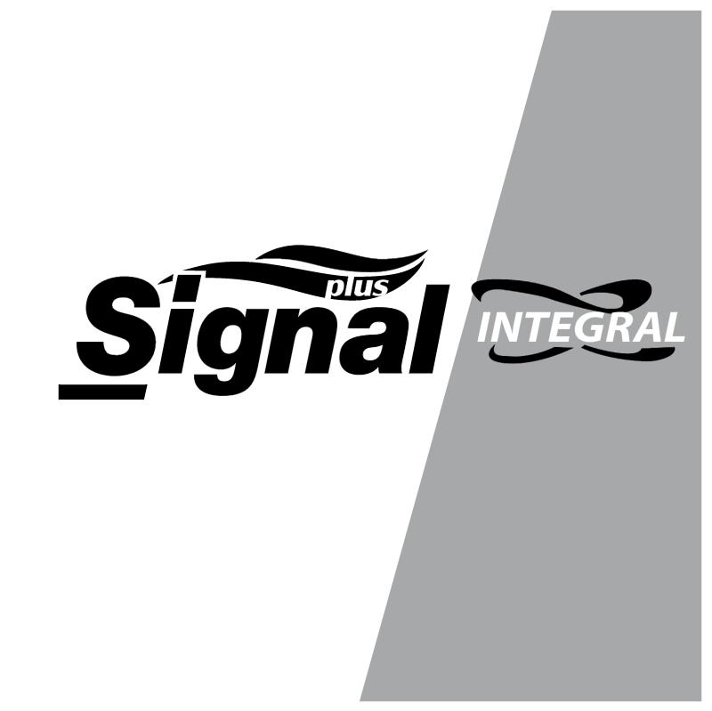 Signal Plus Intergal vector