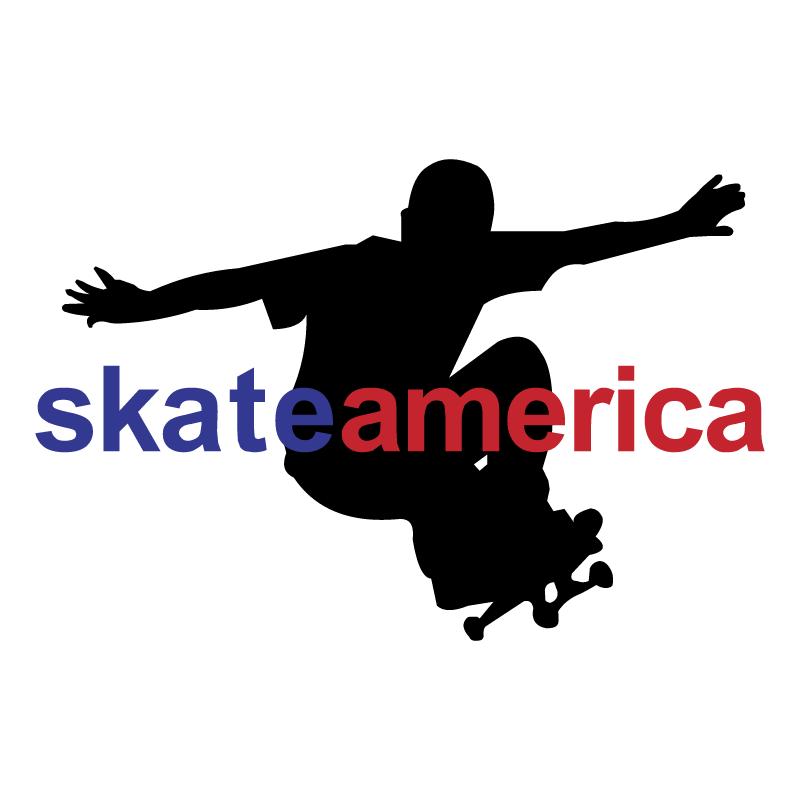 Skate America vector logo