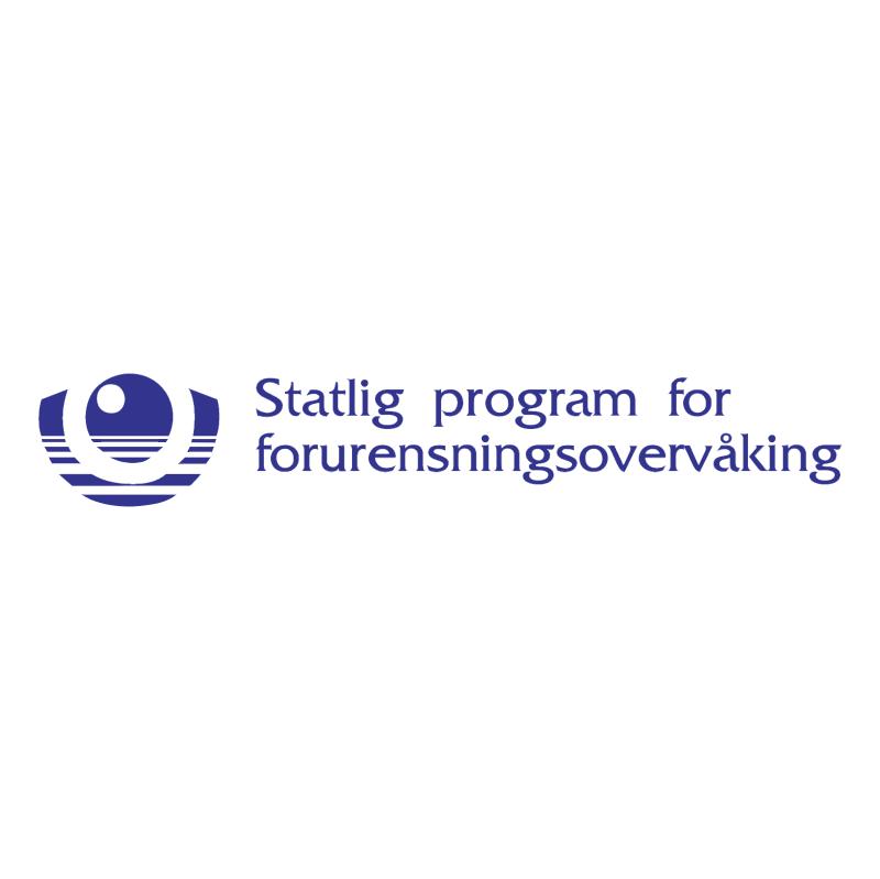 Statlig program for forurensningsovervaking vector