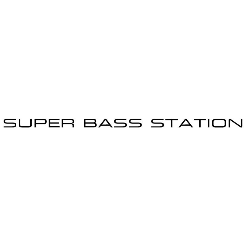 Super Bass Station vector
