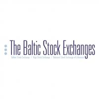 The Baltic Stock Exchanges vector