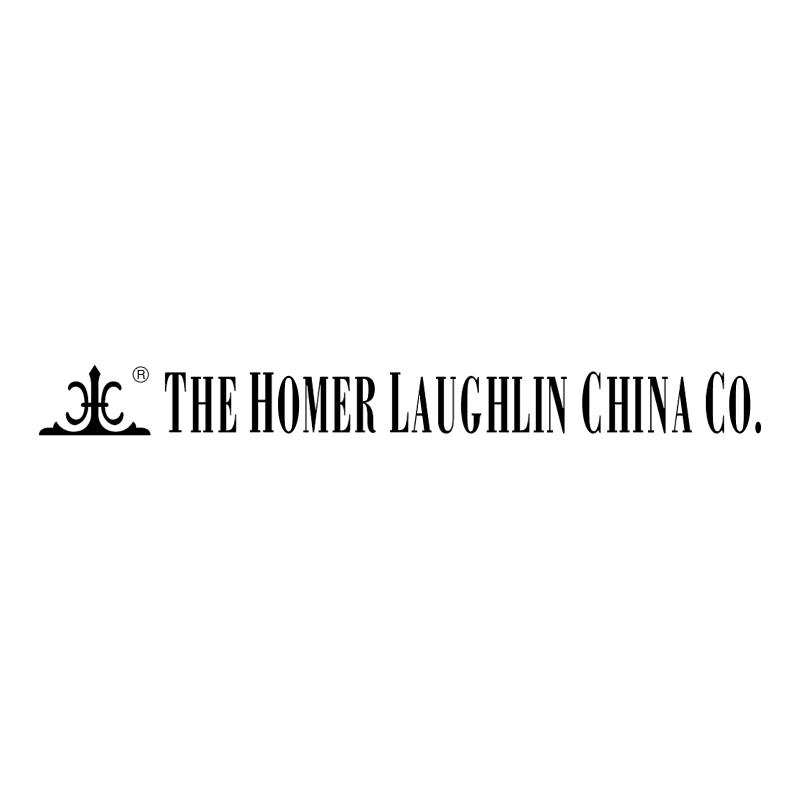 The Homer Laughlin China vector