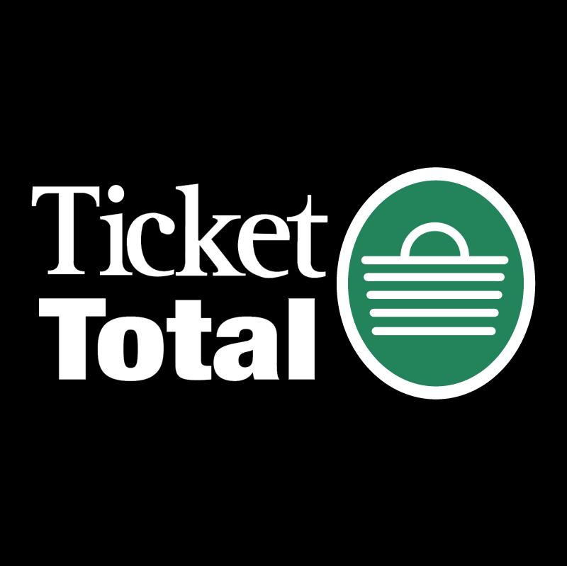 Ticket Total vector