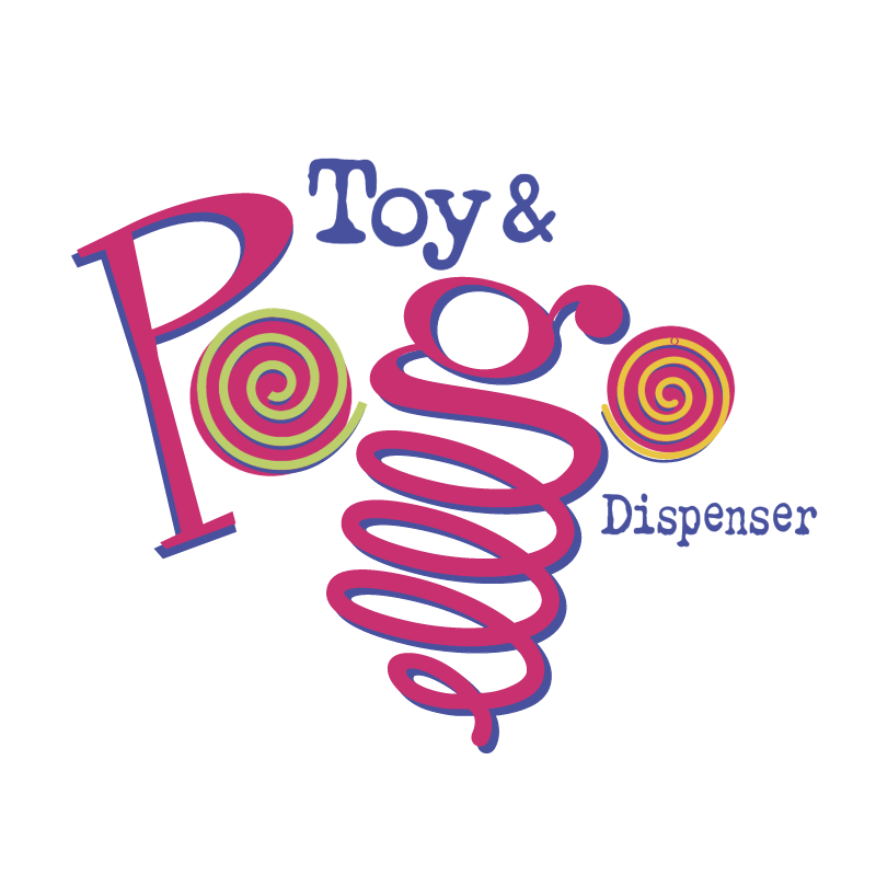 Toys & Pogo Dispenser vector logo