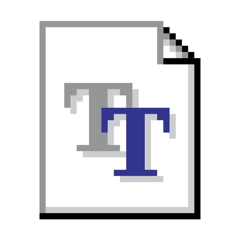 TrueType vector