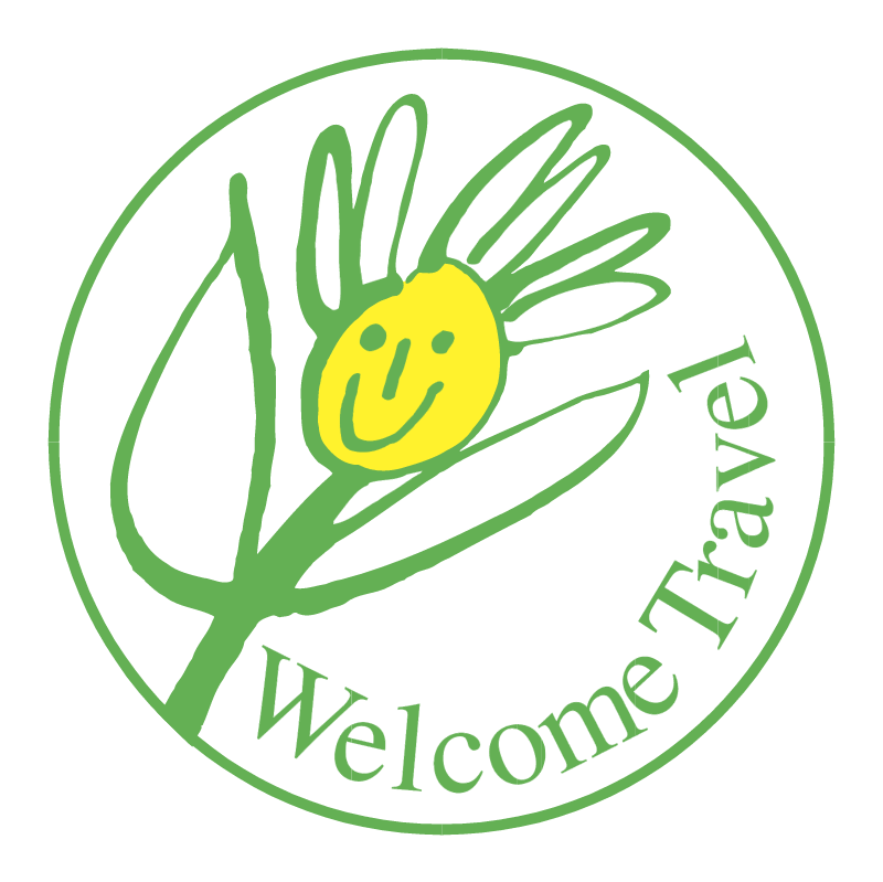 Welcome Travel vector