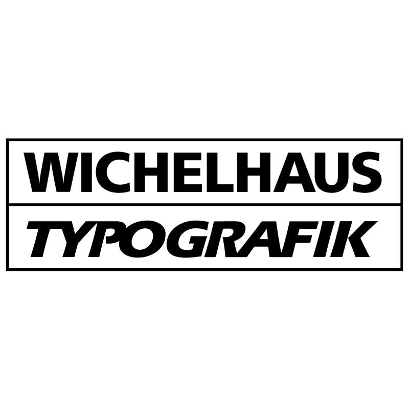 Wichelhaus Typografik vector