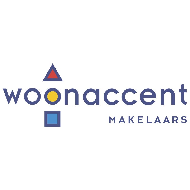 Woonaccent Makelaars vector logo