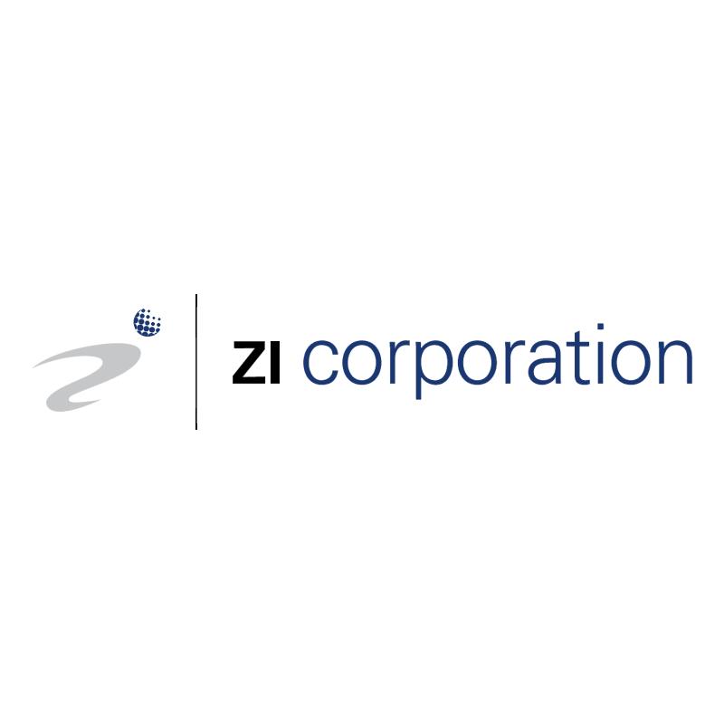 Zi Corporation vector logo