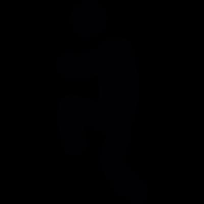 Exercising vector logo