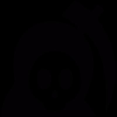 Cute reaper vector logo