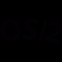os/2 logo vector