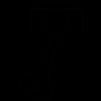Piston, IOS 7 interface symbol vector logo