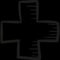 Draw Adding Cross vector
