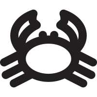 Wild Crab vector