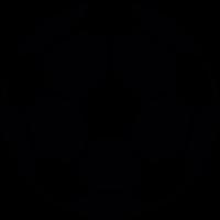 Soccer Ball silhouette vector