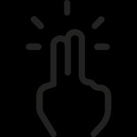 Fingers Clicker vector