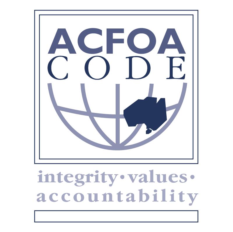 ACFOA Code 45576 vector logo