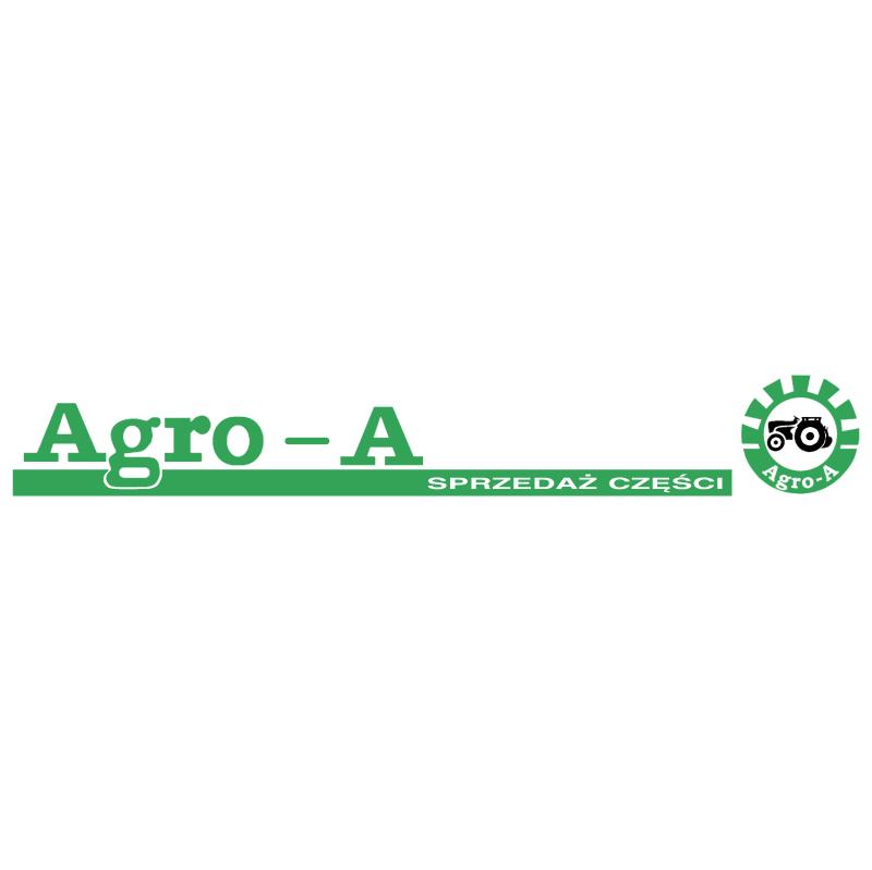 Agro A vector