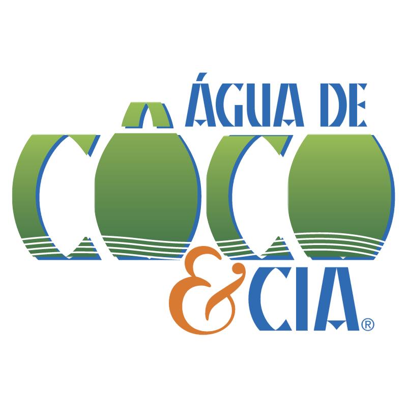 Agua de Coco & Cia 38997 vector