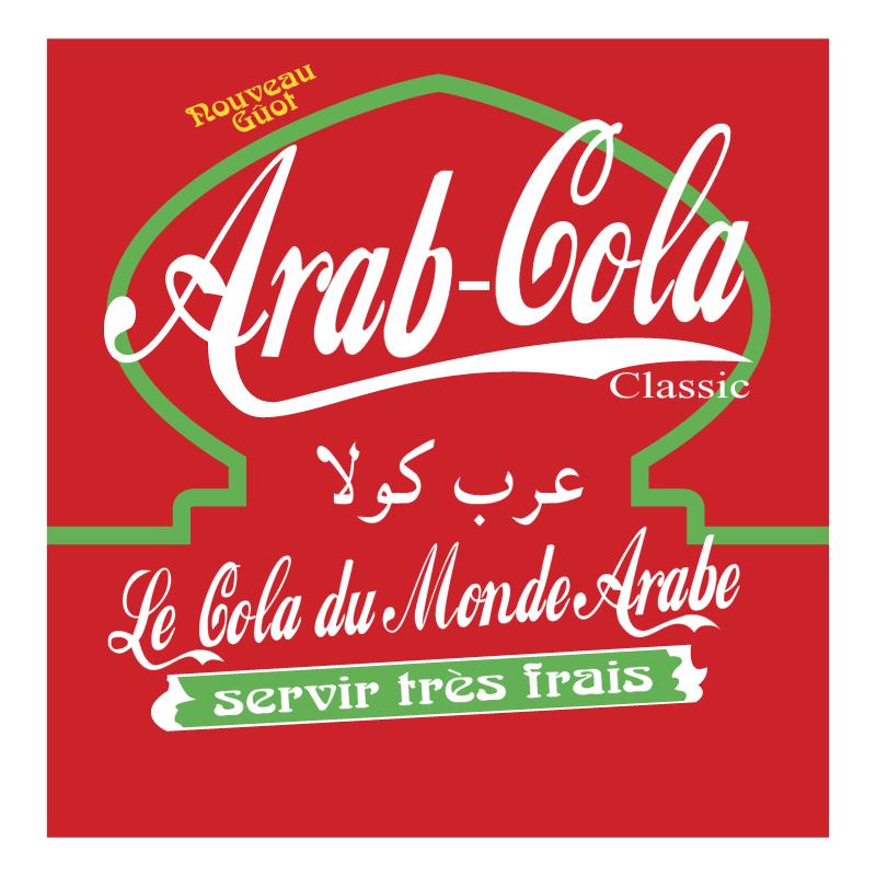Arab Cola 86254 vector