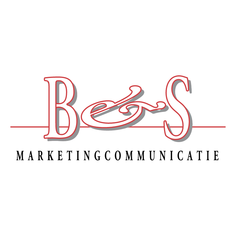 B&S Marketing Communicatie 85151 vector