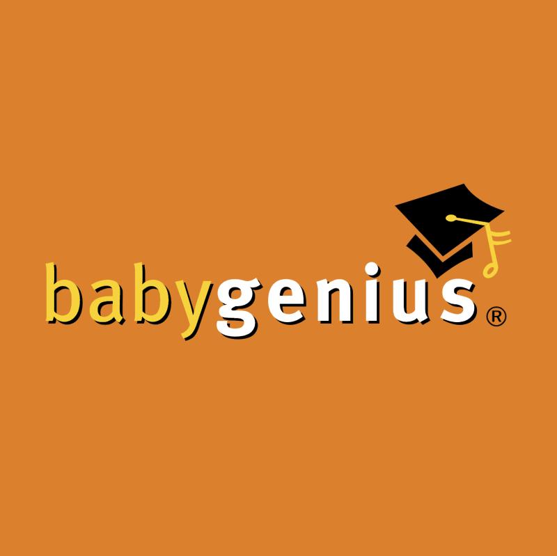 Baby Genius vector
