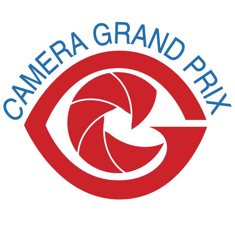 Camera Grand Prix vector logo