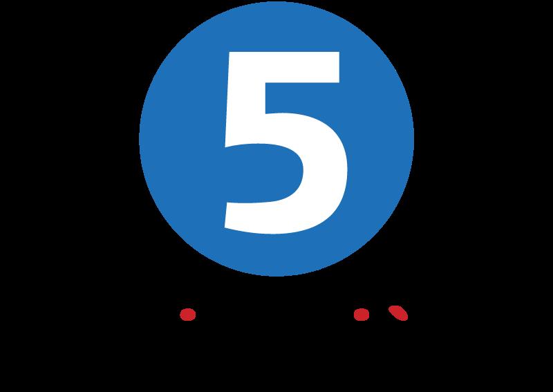 Cinquieme La TV logo vector