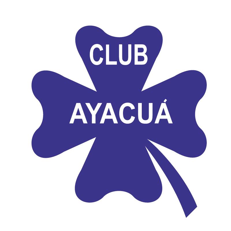 Club Ayacua de Capitan Sarmiento vector logo