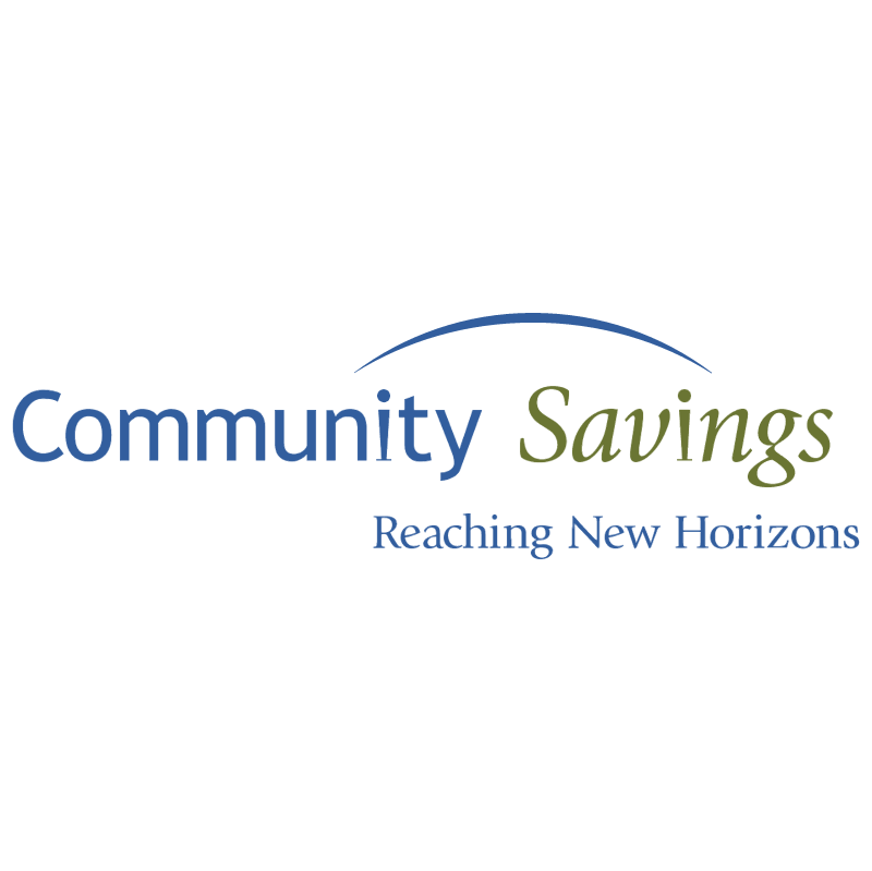 Community Savings vector