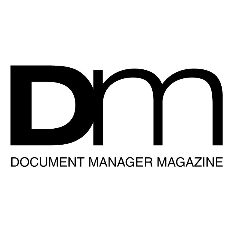 DM vector logo