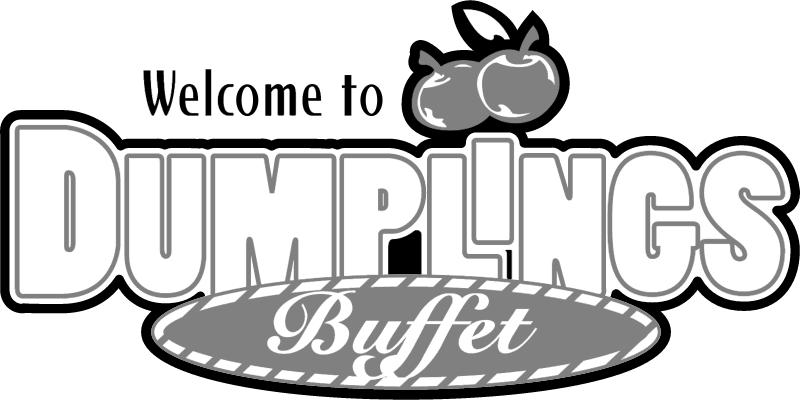 Dumplings Buffet vector