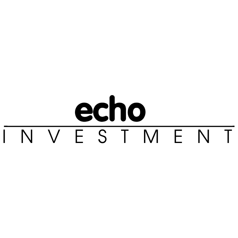 Echo Investment vector