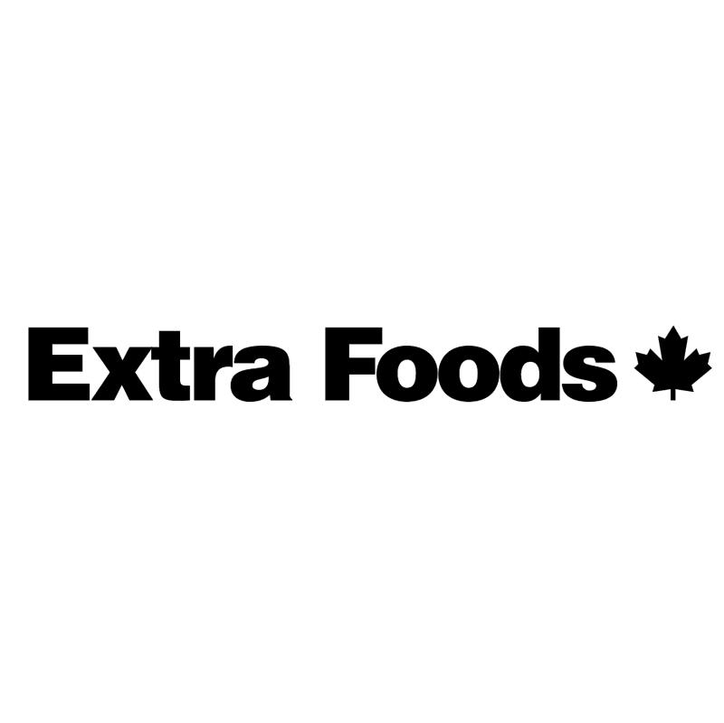 Extra Foods vector