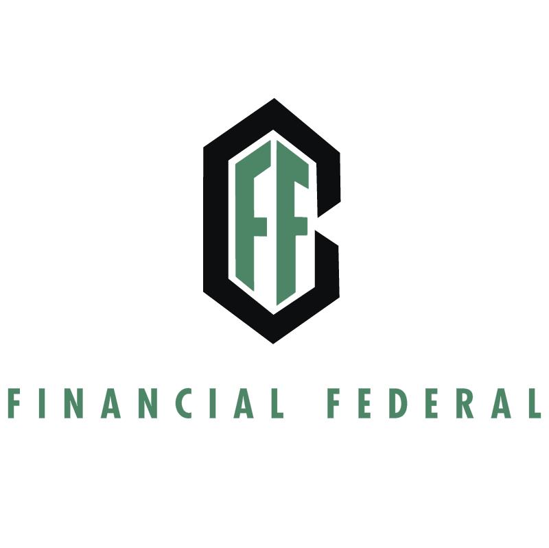 Financial Federal vector