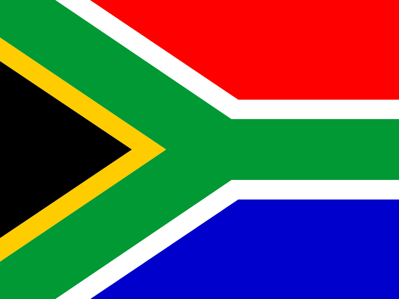 Flag of South Africa vector logo