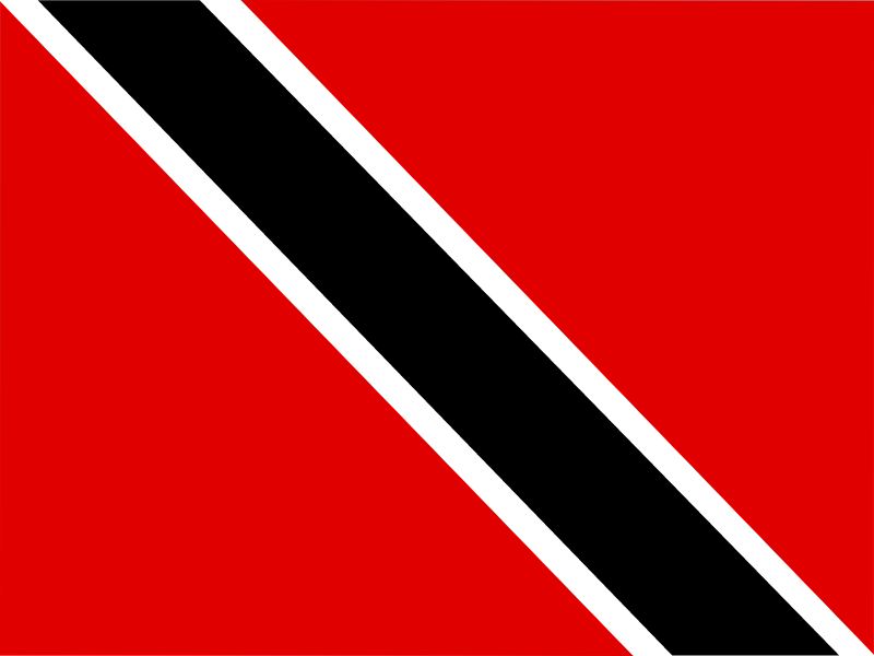 Flag of Trinidad and Tobago vector