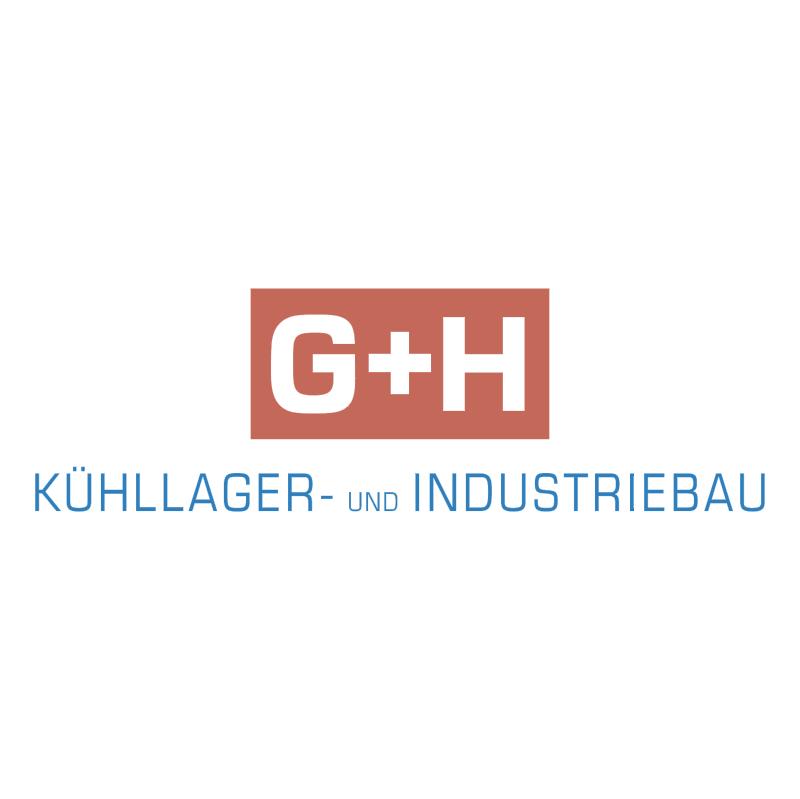 G+H Kuehllager und Industriebau vector