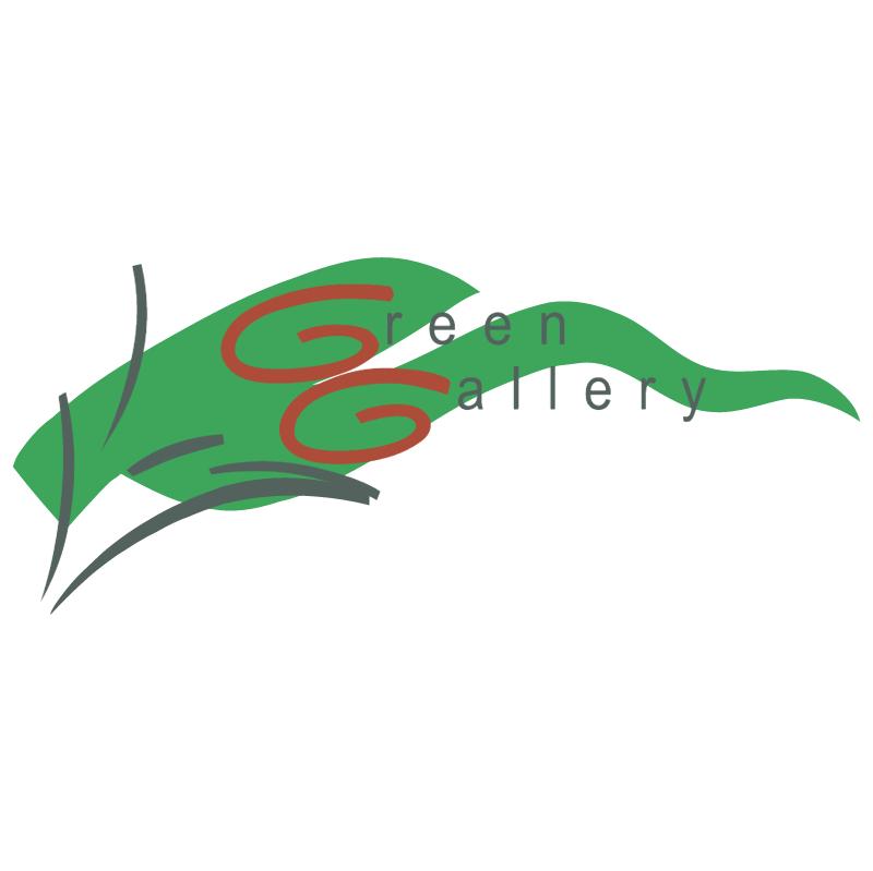 Green Gallery vector