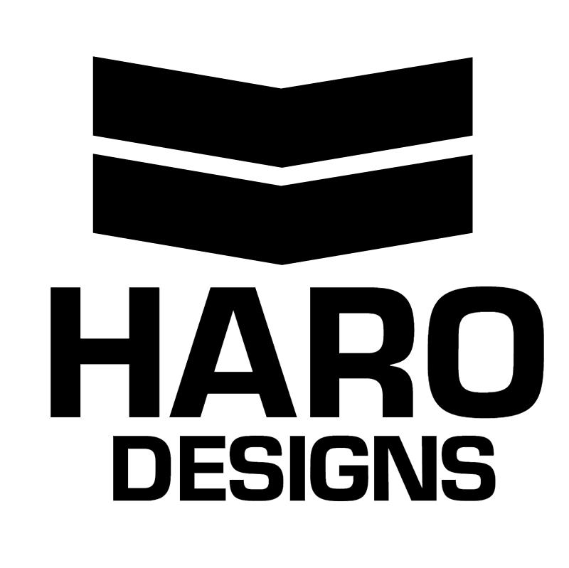 Haro Designs vector logo