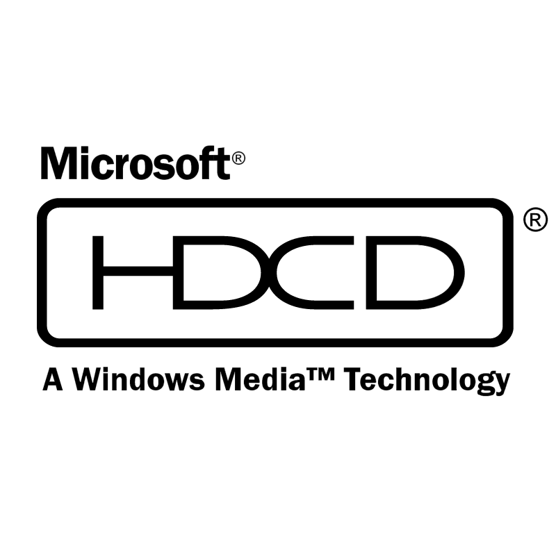 HDCD vector logo