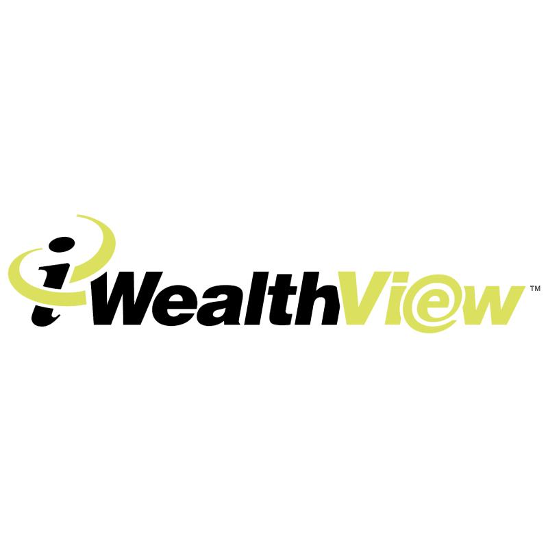 i WealthView vector logo