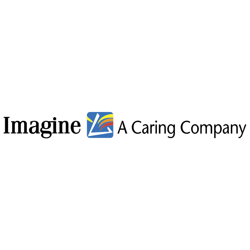 Imagine A Caring Company vector logo