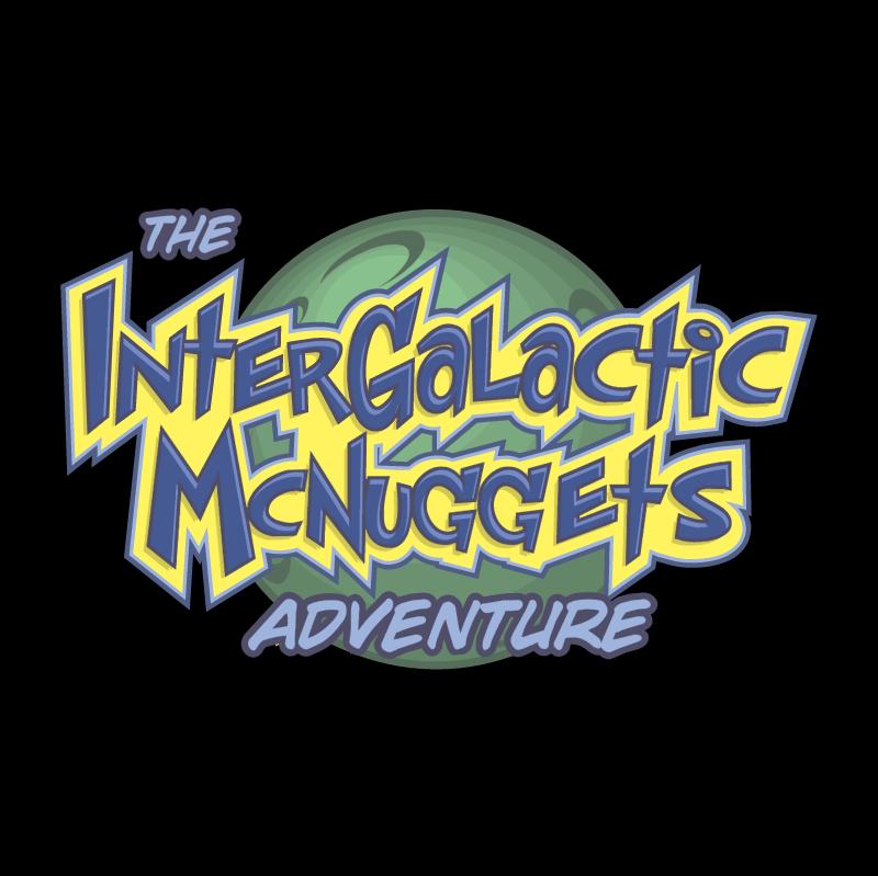 Intergalactic McNuggets Adventure vector