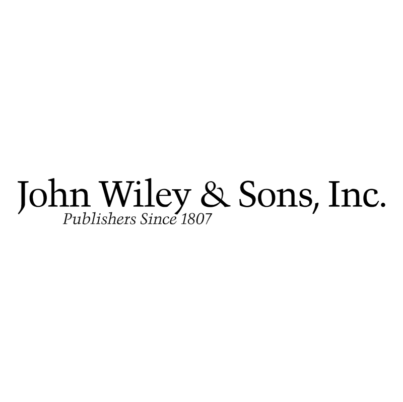 John Wiley & Sons Inc vector