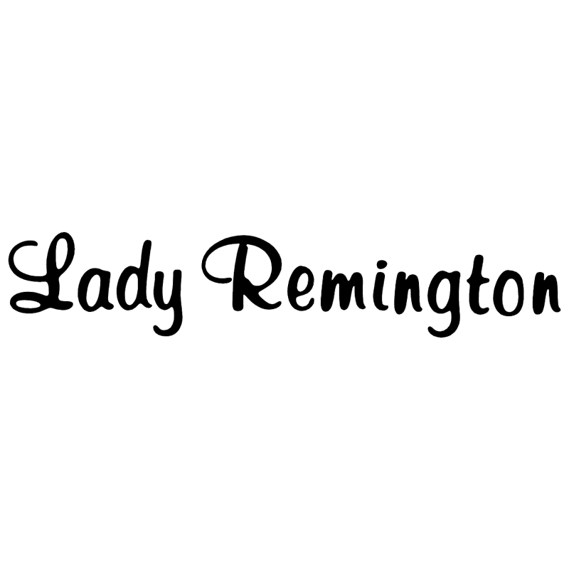 Lady Remington vector